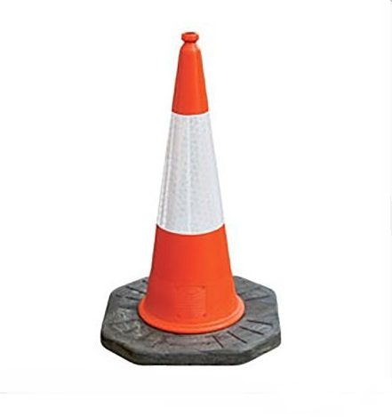 Traffic Cone (Black Base)